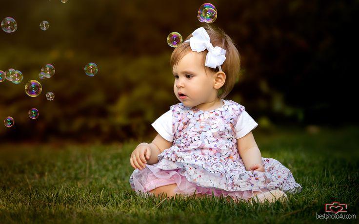 Zsófi baba egy éves fotózása