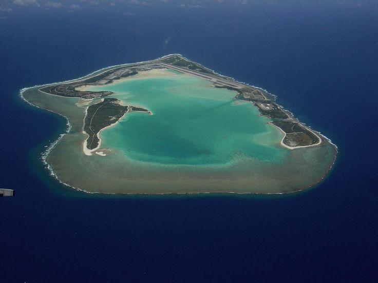 Wake Island (battle field), North Pacific.