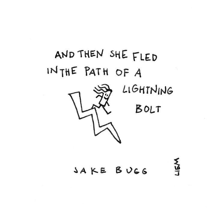 Jake Bugg. 365 illustrated lyrics project, Brigitte Liem.