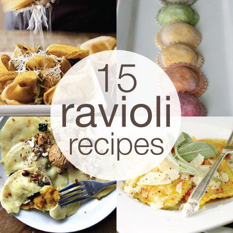 ravioli filling recipes | ravioli recipe roundup