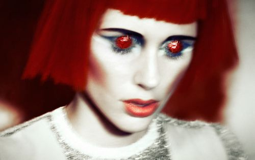 """Reddest Hot / Make-Up Magic r +†+ From """"The Red Life"""": An editorial for #Fashion #Gone #Rogue"""
