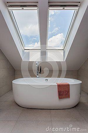 Stedelijke flat - modern bad