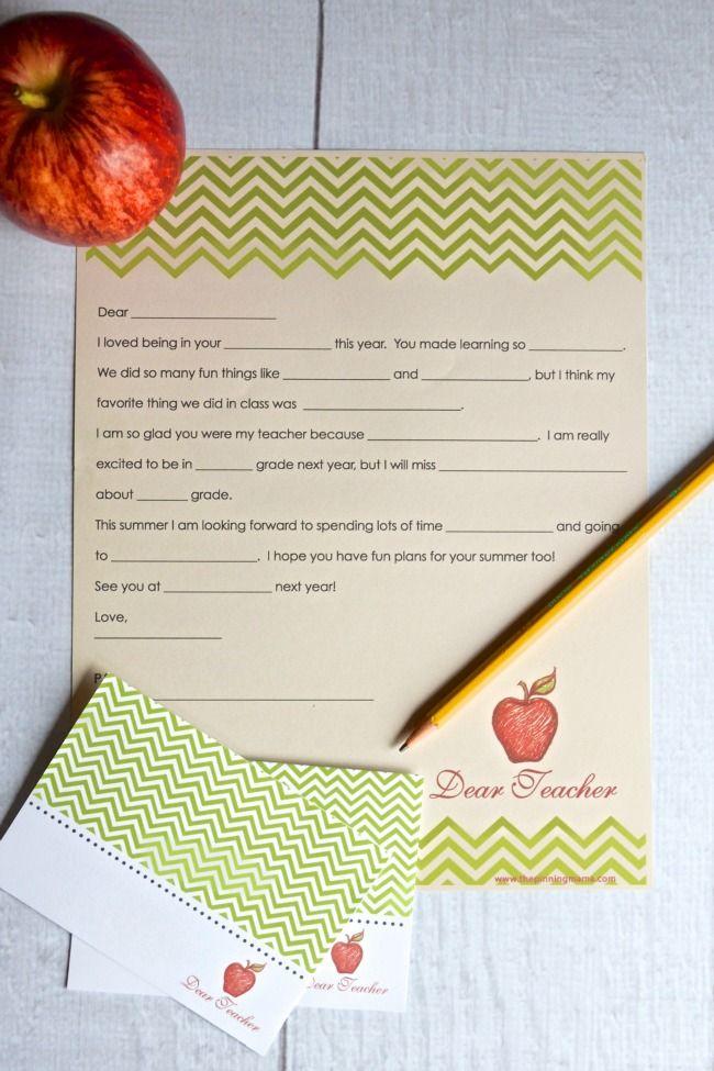 17 Best ideas about Teacher Thank You on Pinterest ...