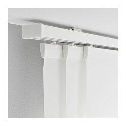 "VIDGA Triple curtain rail, for Rohit's ""stud"" wardrobe.  - IKEA"
