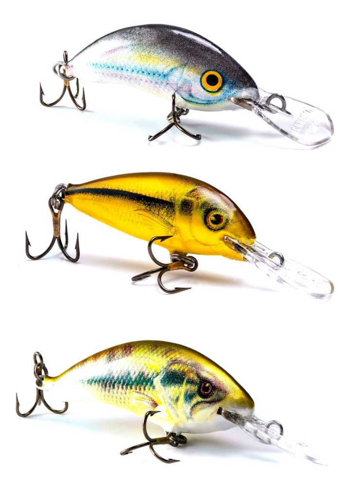 Lot of 3 Ugly Duckling Ultra Light Fishing Lures for ...