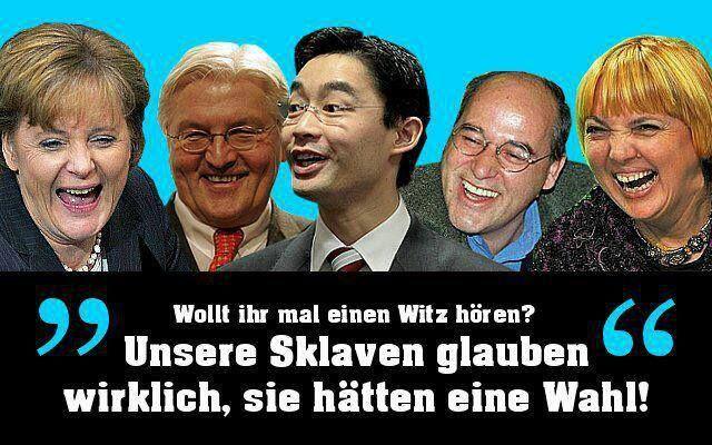 Das deutsche Wahlrecht ist ungültig oder anders ausgedrückt: Wir sind keine Demokratie mehr, denn es gibt laut Bundesverfassungsgericht kein gültiges Wahlrecht. Unglaublich aber wahr. Das Verfassun…