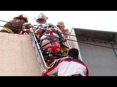 "Emergencias 065 - ""Rescate Vertical de Hombre Electrocutado"" (Cruz Roja) - YouTube"