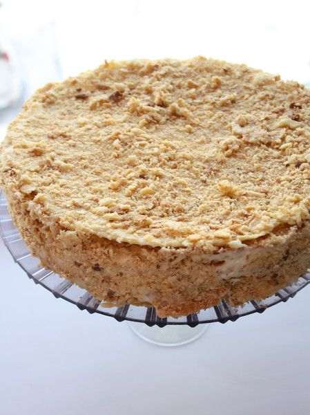 быстрый торт с заварным кремом рецепт