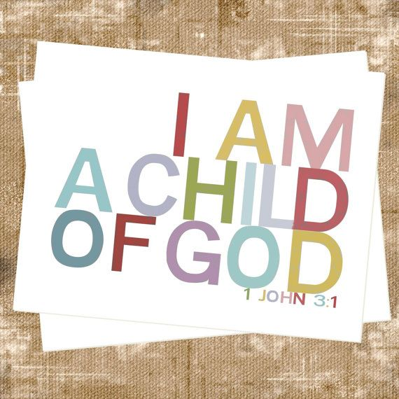 verseBreads Bowls, Child Room, Children Church, John 3 1, God, 1 John, Kids Crafts, Church Nurseries, 1John
