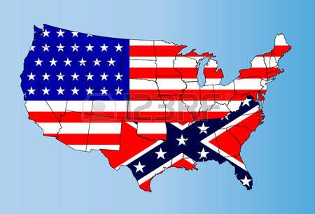 Image result for civil war map confederate states and union states