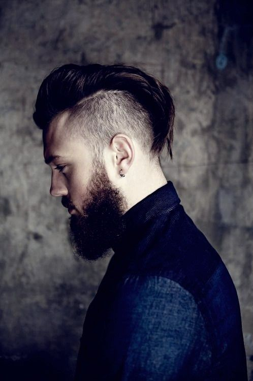 20 Beste Undercut Frisuren Fur Manner Irokesenschnitt Manner