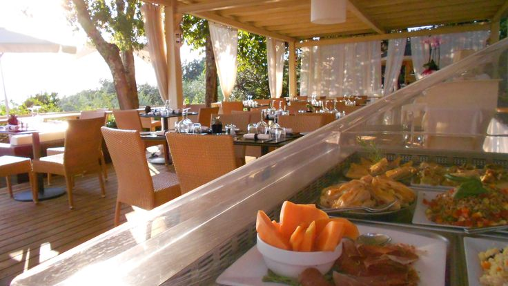 Fish #BBQ buffet on our panoramic terrace!