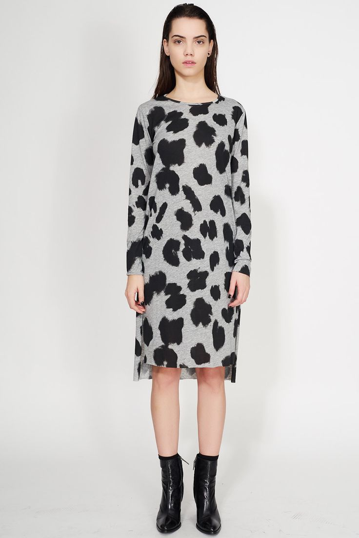 CHEAP MONDAY - STRIPE LEOPARD DRESS #cute #cheapmonday #dress #leopard #fashion