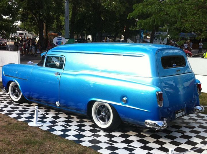 1960 Holden FB Panel Van