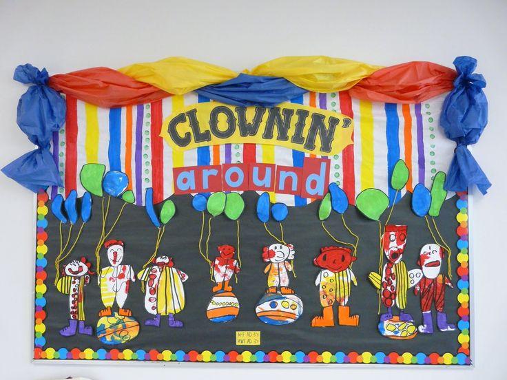 Clowning Around Circus Carnival Free Theme Teaching And