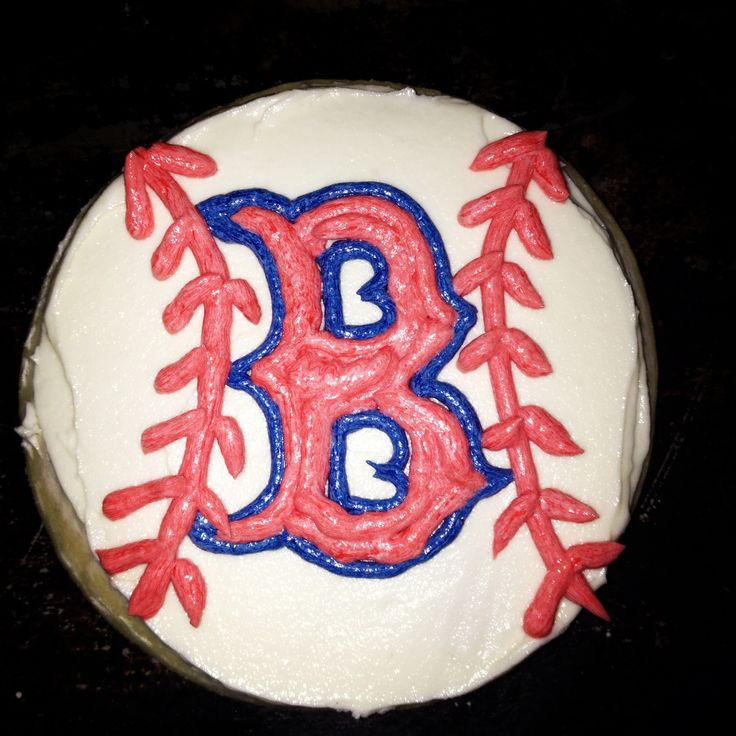 17 Best Ideas About Red Sox Cake On Pinterest