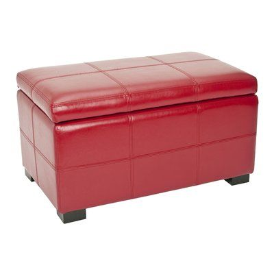 Safavieh HUD8227 Madison Small Storage Ottoman