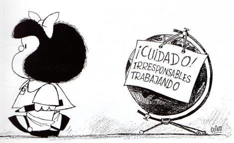 Mafalda y el mundo