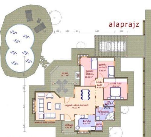Újpest családi ház típusterv
