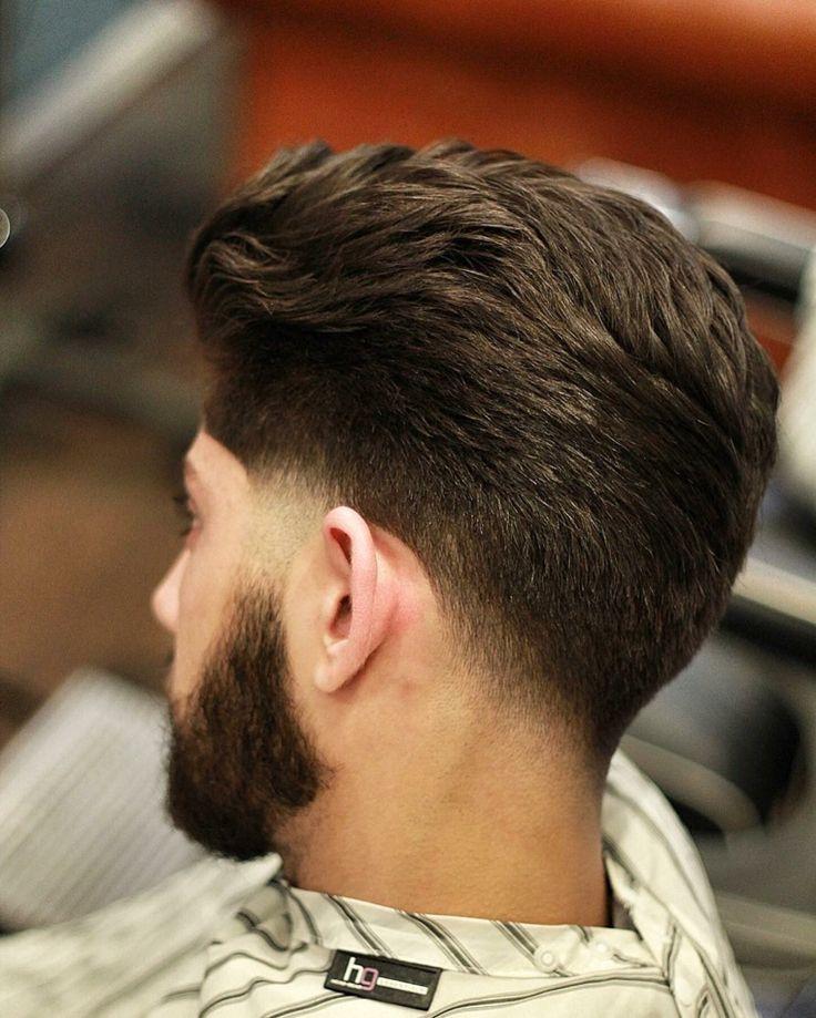 peinados para hombres un corte de longitud media