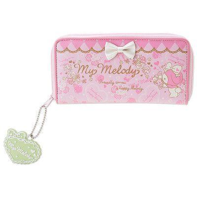 My Melody Long Wallet SANRIO JAPAN Logo-01