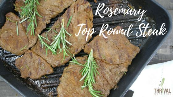 Rosemary Top Round Steak