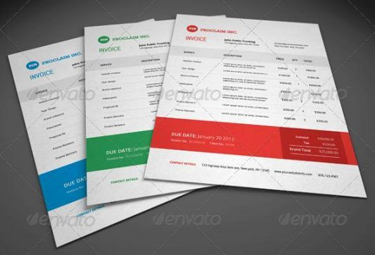 The 60 best Invoice Template Designs Download images on Pinterest
