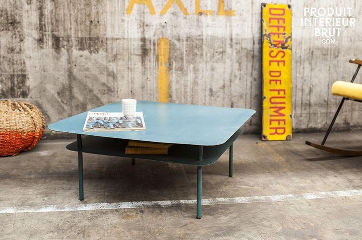 Une table métal pour une déco vintage réussie