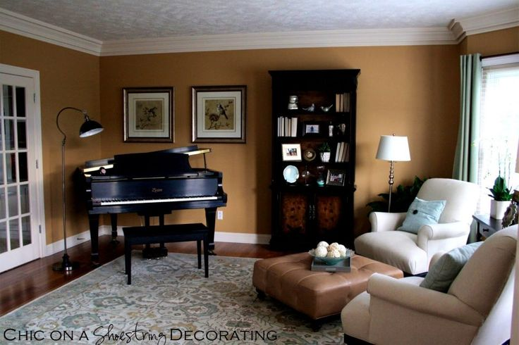 Furniture, Entrancing Chic Shoestring Decorating Grand Piano Living Room Prices Pianoroom Cost Layout With Pictures In Images Dimensions Size Small Chairs Design Baby: grand piano living room
