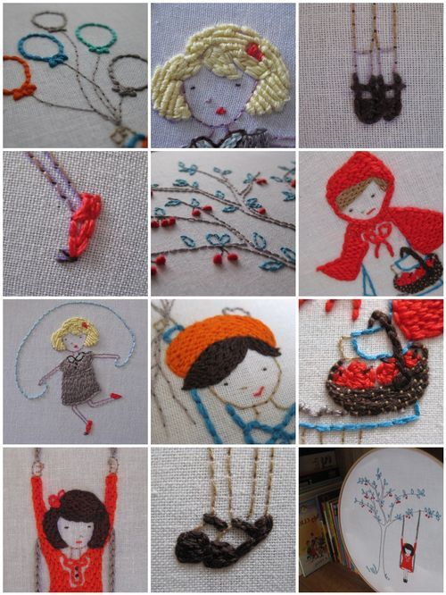 """cute crafty ideas here at """"comfortstitching"""" by Aneela Hoey. love her stuff"""