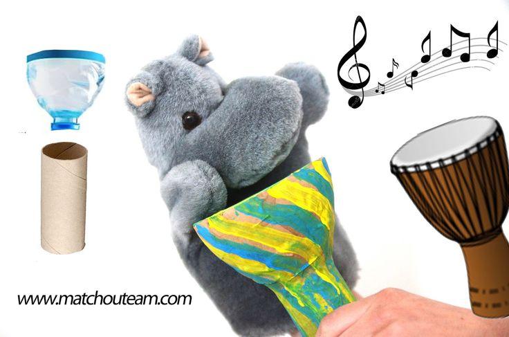 Fête de la musique : Le djembé      Mini djembé à fabriquer!