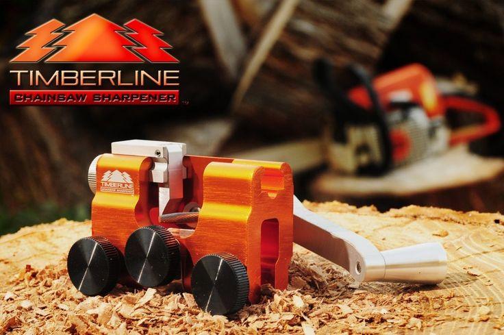 Timberline Chainsaw Sharpener (Hand-Crank Chain-Saw Sharpener)