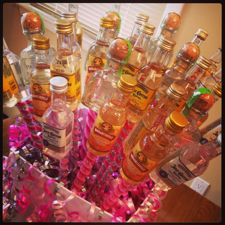 tequila bouquet! D.I.Y. Pinterest Do, Hospitals and