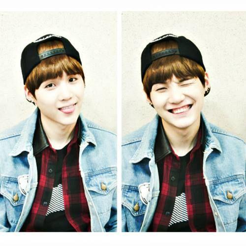 Esses lábios, esse sorriso doce, tão amor ❤❤❤ Yoongi