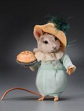 R. John Wright-мини-джек Horner мыши, Матушка Гусыня Collection