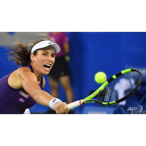 Johanna Konta reaches quarterfinals at Wuhan