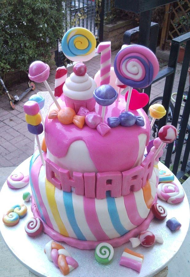 Candy cake — Birthday Cakes