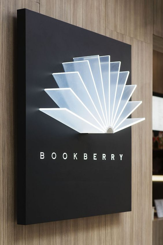 Creative sign idea #office #signage #moderndesign http://www.ironageoffice.com/