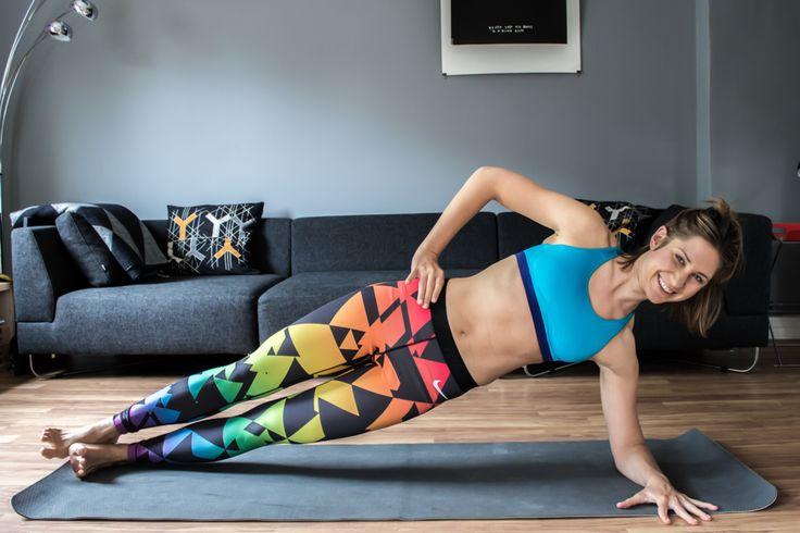 Flacher Bauch - 16 Tipps zum Bauchfett loswerden. Die Nike Leggins gibt es hier: http://go.nike.com/betruetights