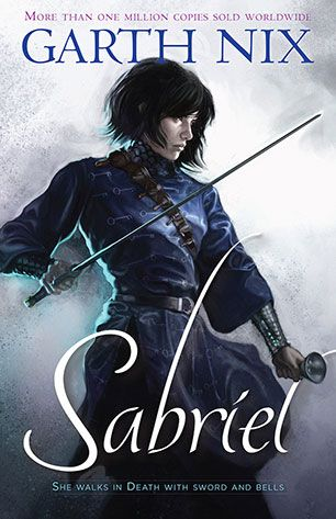 Sabriel by Garth Nix. For many years Sabriel has lived outside the walls of the Old Kingdom, away from the random power of Free Magic, and away from the Dead who won't stay dead. But now her father, the Mage Abhorsen, is missing, and to find him Sabriel must cross back into that treacherous world - and face the power of her own extraordinary destiny.