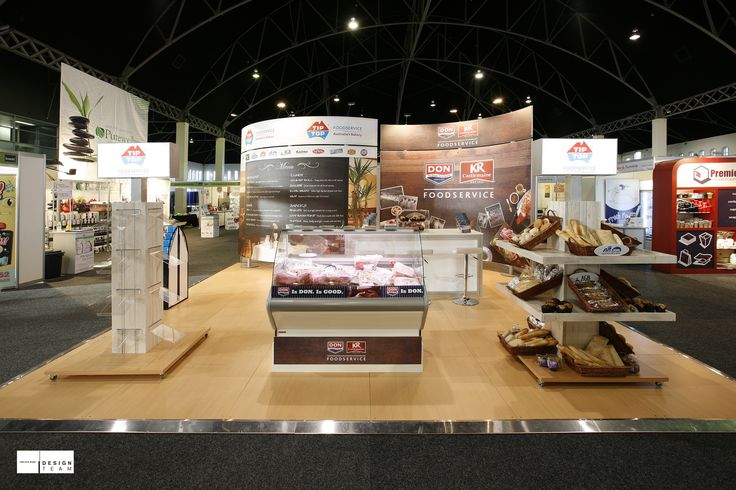 GEORGE WESTON FOODS @ LUNCH! Tip Top and DON/KR engage with lunch-time chefs at this trade show