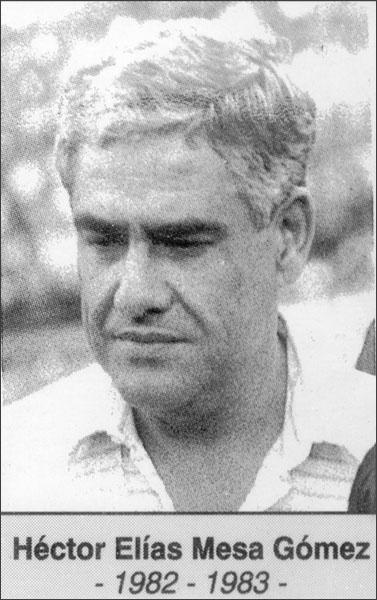 Héctor Elías Mesa Gómez 1982-1983