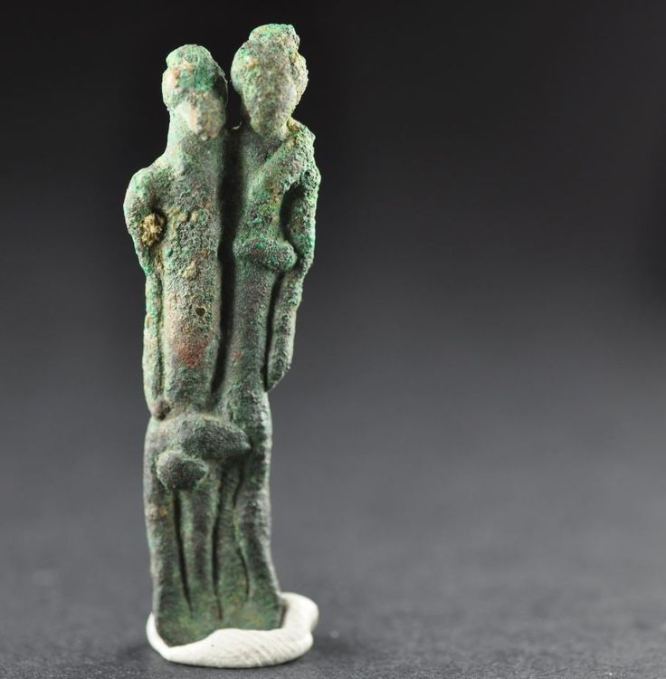 Intercourse between man and woman, Amlash bronze figurine 19, 1st millenium B.C. Private collection