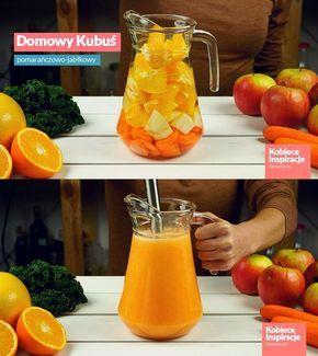 Domowy Kubuś - koktajl marchewkowy
