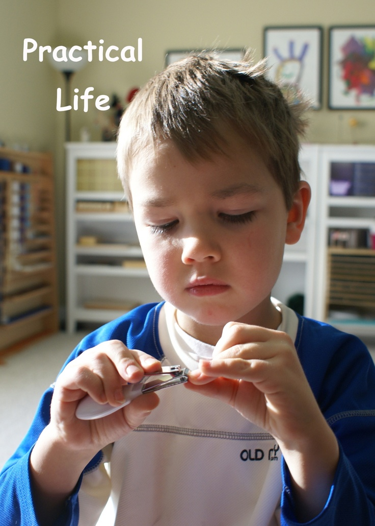 What DID we do all day?: School Days. This is a wonderful Montessori blog. And has a great list of more blogs for inspiration