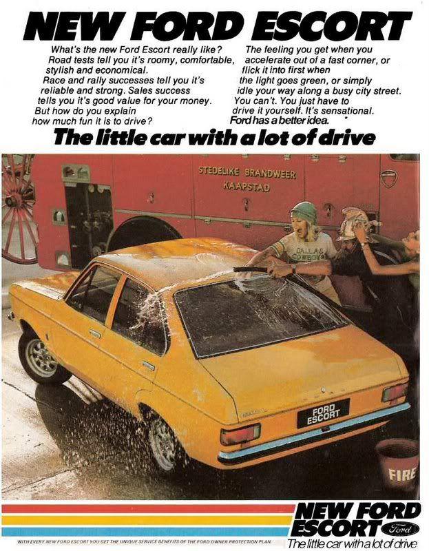 Ford Escort mk1 Ad
