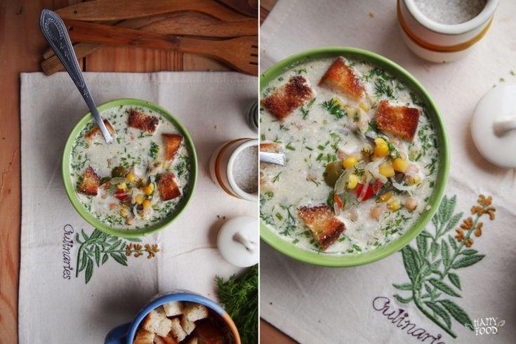 "Мексиканский суп ""суккоташ"" (готовим в мультиварке)"