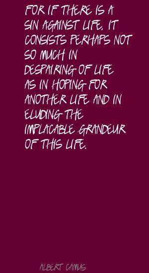Albert Camus - Biographical - Nobel Prize