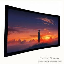 Curved Fixed Frame Projector Screens