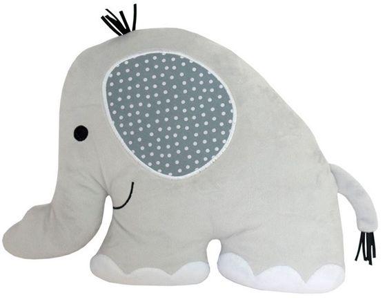 Jabadabado Kudde Elefant Grå
